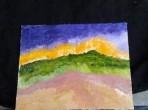 Oil On Canvas 8 X 10